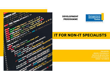 Online-Development Programme on IT for Non-IT Specialists