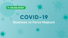 The online meeting COVID-19: Business vs Force Majeure