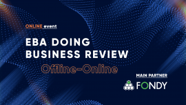 EBA Doing Business Review: Sales from Off-line to On-line