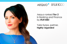 Aequo once again named among the Top Tier Firms in Banking and Finance by IFLR1000