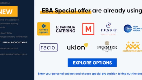 "EBA presents a new opportunity – ""Special Offers"""
