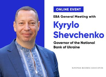 EBA General Meeting with Kyrylo Shevchenko, Governor of the National Bank of Ukraine and the Board of the National Bank of Ukraine