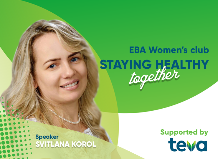 EBA Women's club: «Staying healthy together»