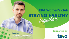 "EBA Women's club «Staying healthy together» meeting ""COVID-19: Updates"""