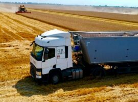 Logistic park G.R. Agro has transported over 110 thousand tons of grain since the beginning of the 2021/2022 season